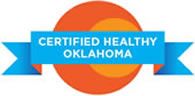 Logo for Certified Healthy Oklahoma
