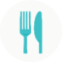 Fork & knife icon