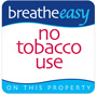 breathe easy, no tobacco use on this property